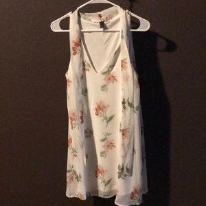 brand-new floral mini dress